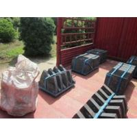 Quality Cr-Mo Alloy Steel Shell Mill Liners High Efficiency Hardness HRC33-43 Checked by UT Test for sale