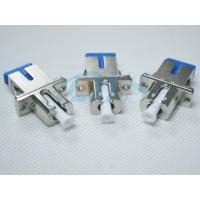China SC / UPC Metal / Solid type Fiber Optical Adapter or Coupler , Low inserting loss on sale