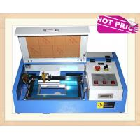 Quality 40W CO2 Laser Engraving Cutting Machine , Mini Desktop Laser Engraver OEM Service for sale