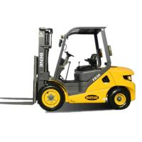 Quality BENE 3.0ton diesel forklift with isuzu engine 3.0t forklift truck with triplex mast for sale