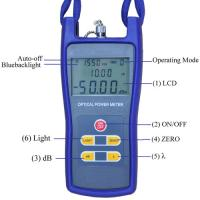 Quality High Precision Optical Test Instruments JZ3208 Optical Power Meter Compact Size for sale