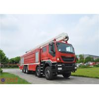 IVECO Chassis Water Tower Fire Truck High Spraying 500mm Fording Depth