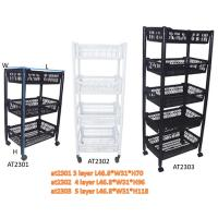 Quality New PP Material  Plastic laundry  Basket Trolley Wholesale for sale