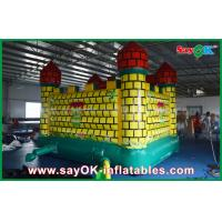 Quality Durable 0.45mm PVC Inflatable Jumping Castle Bouncer Trampoline Bounding Table for sale