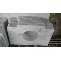 Marble Countertop Guangxi White Marble Vanity Top China Carrara Marble Bathroom Vanity Top for sale