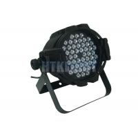 China AC90V - 240V 54 pcs 3W RGBW LED Stage Wash Lights / LED Par Light on sale