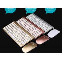 Quality Factory 2.4G Mini Wireless Keyboard Kit for Android Apple System  K108 Chocolate Keyboard mouse 2018 south america for sale