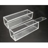Quality Customized Portable acrylic display case with lock , scratch resistance for sale