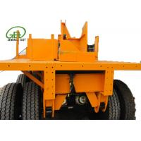 Quality 40ft Length Flatbed Semi Trailer , Heavy Duty Flatbed Trailer 30T - 60T Capacity for sale