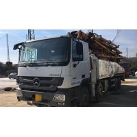 Quality 8×4 Drive Mode Used Concrete Pump Truck BENZ-ZOOMLION Brand With 52m Pump for sale