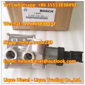 Quality 100% original BOSCH valve F00BC80045 , F00BC80046 ,F 00B C80 045 Pressure distribution valve 7421103266,4298582,4296846 for sale