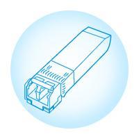 China 40km SMF JUNIPER Ethernet SFP Module LC Connector / JUNIPER 10G SFP for sale