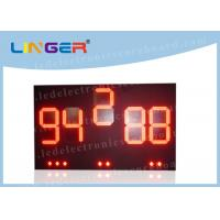 Quality Outside UV Protection LED Baseball Scoreboard With Brackets 20 Inch for sale