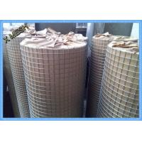 China Electric Fusion Galvanised Welded Mesh Rolls Stainless Steel Wire 19 X19x1.6mm Dia on sale