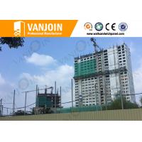 Quality Lightweight Fire Resistance EPS Sandwich Wall Panels for Exterior Partition Wall for sale