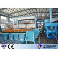 Quality Waste Paper Raw Material Apple Tray Making Machine / Egg Tray Forming Machine for sale