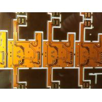 Quality 2 layer Ployimide rigid flex printed circuit boards  ENIG Surface finish for sale