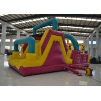 Big Commercial Inflatable Obstacle Courses Outdoor Game 8 X 4 X 4m Safe Nontoxic