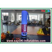 Quality Nylon Cloth Custom Inflatable Products With Logo Printing For Promotion for sale