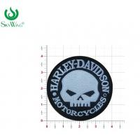 Quality Commercial Custom Motorcycle Vest Patches DIY Skull Motorcycle Patches for sale