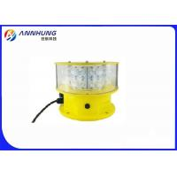 Quality Double LED Aviation Obstruction Light  Saving Power Consumption And Maintenance for sale