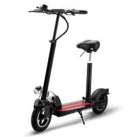 Aircraft - Grade Folding Electric Bicycle , Folding Electric Scooters For Adults