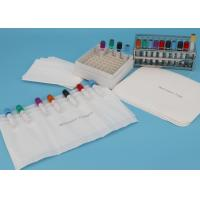 Quality Customized size Absorbent Pouches And Sheets For Transporting 7-Tube Lab Specimens for sale