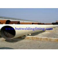 Quality ASTM DIN JIS Welded API Carbon Steel Pipe with Varnish Paint Surface for sale