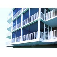 Quality Powder Coating Finish Aluminum Deck Railing Systems Picket Railing Design For Home for sale