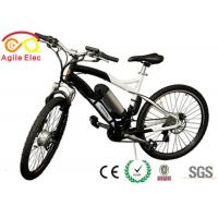 Quality Silver Sumsung Lithium Ebike Bottle Battery , 36V Electric Scooter Battery Pack for sale