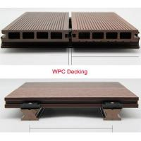 China Sunshien WPC hollow decking waterproof and anti-UV flooring cover best quality on sale