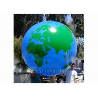Quality Helium PVC Air Tight Earth Balloon Advertising Inflatable Sphere Ball for sale