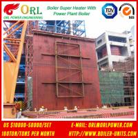 Buy cheap 10T - 1000 Ton CFB Boiler Petrochemical Biomass Industry Superheater Coils High / Low Pressure from wholesalers