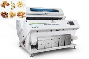 Quality Infrared Hawkeye Multifunction CCD Peanut Color Sorter Machine for sale