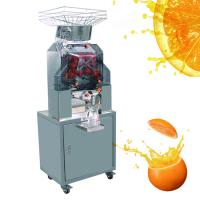 Buy cheap Antirust Stainless Steel Automatic Orange Juicer Machine for Restaurant from wholesalers