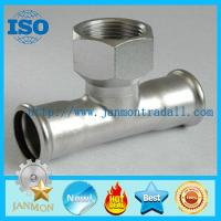 Quality Stainless steel hydraulic fittings,Stainless steel hydraulic pipe fittings,Stainless steel threading connecting end for sale
