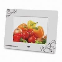 Quality Digital Photo Frame with 800 x 600 Pixels High Resolution and Built-in 256MB Flash Memory for sale