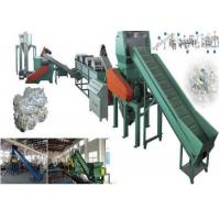 Quality Floating PP PE Waste Plastic Recycling Extruder Single Screw 500kg/H Capacity for sale