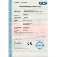 YUEQING CHIMAI ELECTRONIC CO.LTD Certifications