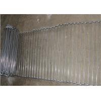 Buy Customized Flat Wire Mesh Conveyor Belt Running Smoothly And Free Samples at wholesale prices