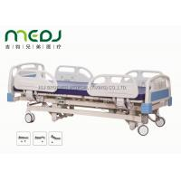 Buy Adjustable Electric Hospital Bed MJSD04-01 ABS Steel Frame With 3 Functions at wholesale prices