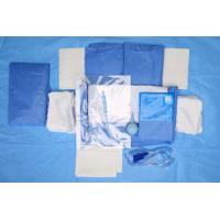 Quality Custom Breathable Disposable Sterile Drape Sheets , Abdominal Drape for sale