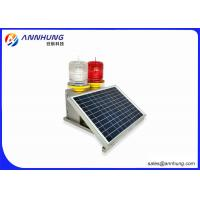 Quality Flash Mode Solar Powered Warning Lights For Large - Scale Port Machinery for sale