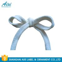 Polyester Woven Tape Cotton Webbing Straps For Garment / Bags for sale