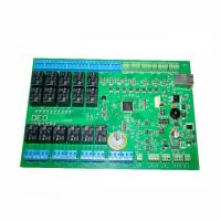 Buy cheap Single sided FR4 Halogen free Printed circuit board fabrication 1.0mm thickness from wholesalers