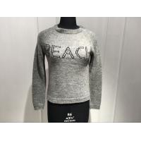 Buy cheap Embroidered Custom Crew Neck Sweaters , Oversized Pullover Sweaters Women'S from wholesalers