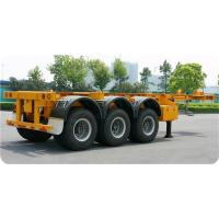 Quality 12400*2490*1400 Mm Second Hand Semi Trailers YORK Brand 3* 13 Tons Capacity for sale