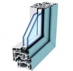 Quality Silding Door Aluminium Door Profile , Deep - Processing Aluminum Door Extrusions for sale
