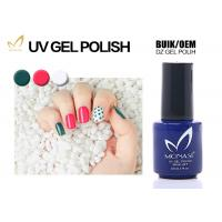 Quality Natural Chemical Free UV LED Gel Nail Polish For UV / LED Lamp Use Bright Color for sale