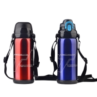 Quality BSCI Double Wall SUS 201 Thermos Vacuum Insulated Bottle for sale